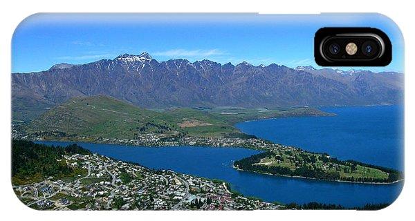 Queenstown New Zealand IPhone Case
