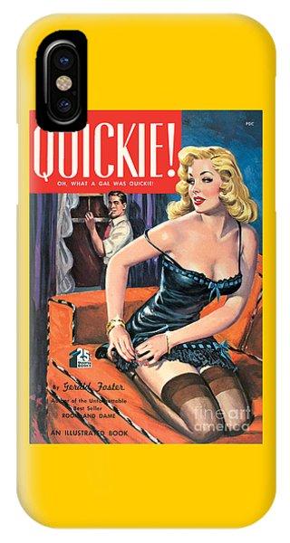 Quickie IPhone Case