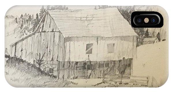 Quiet Barn IPhone Case