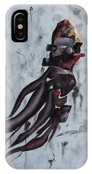 IPhone Case featuring the painting Quiet Desperation by Robert Henne