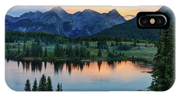 Quiet In The San Juans IPhone Case