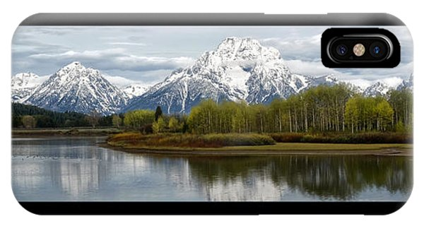 Quiet Morning At Oxbow Bend IPhone Case