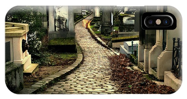 Pere Lachais Cemetery Road IPhone Case