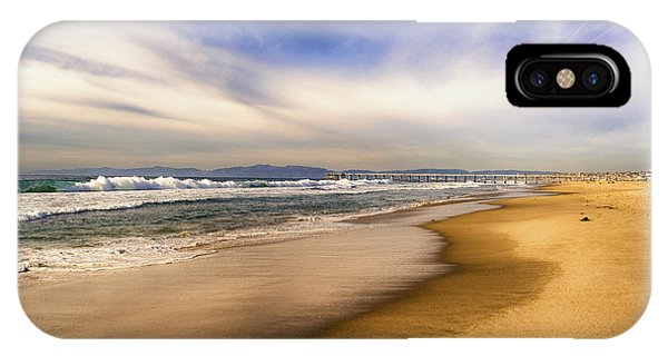 IPhone Case featuring the photograph Quiet Reflections Of Hermosa by Michael Hope