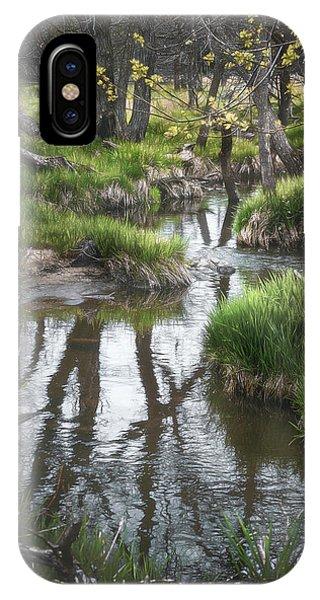 Water iPhone Case - Quiet Stream by Scott Norris
