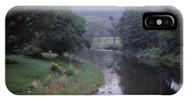 Quiet Stream- Woodstock, Vermont IPhone Case