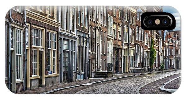 Quiet Street In Dordrecht IPhone Case