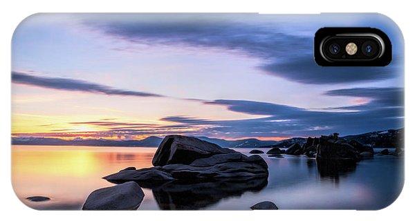 Quiet Sunset IPhone Case