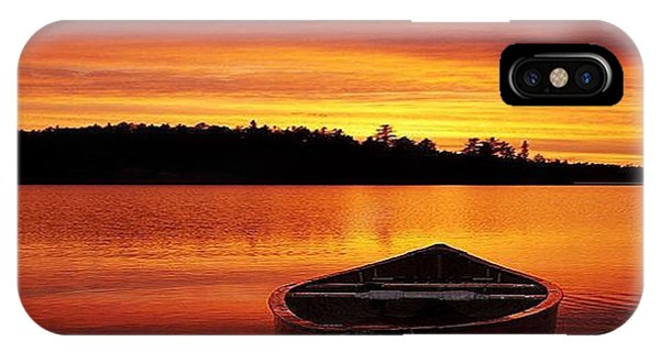 Quiet Sunset IPhone Case