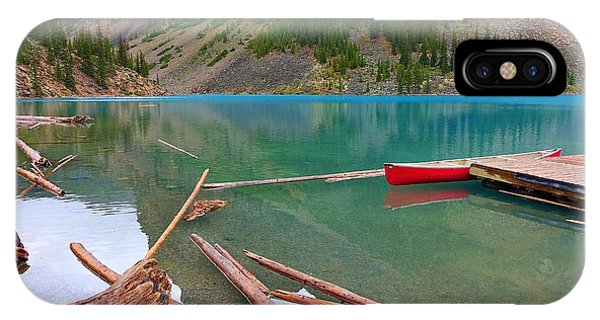 Moraine Lake I, Alberta IPhone Case