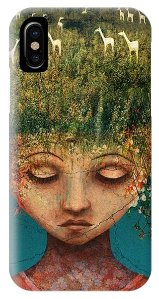 Cosmetic iPhone Case - Quietly Wild by Catherine Swenson
