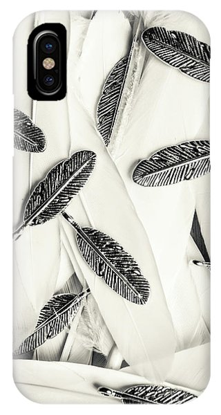 Plumes iPhone Case - Quills Of A Feather by Jorgo Photography - Wall Art Gallery