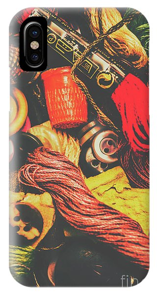 Industry iPhone Case - Quilting In Crochet by Jorgo Photography - Wall Art Gallery