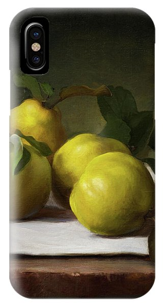 Fruit iPhone Case - Quince by Robert Papp
