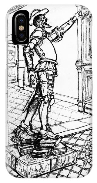 iPhone Case - Quixote Museum by Rich Travis