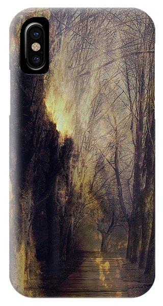 Susann Serfezi iPhone Case - Quo Vadis  -  Memory Lane by AugenWerk Susann Serfezi