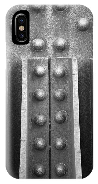 Trestle iPhone Case - R R B 10 by Mike McGlothlen