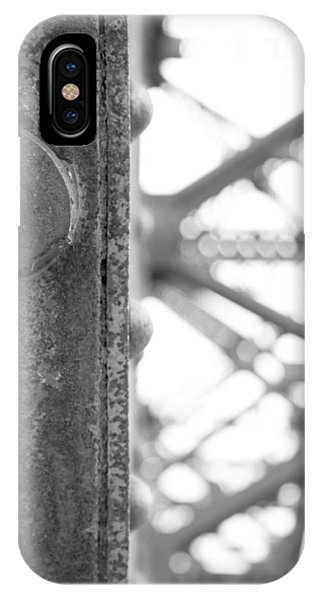 Trestle iPhone Case - R R B 12 by Mike McGlothlen