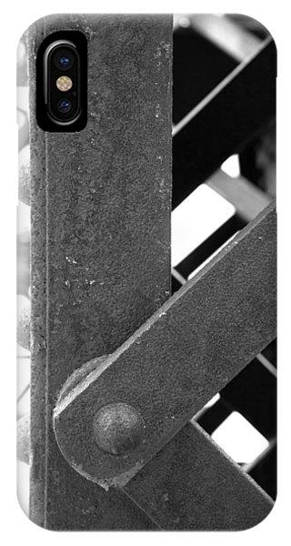 Trestle iPhone Case - R R B 15 by Mike McGlothlen