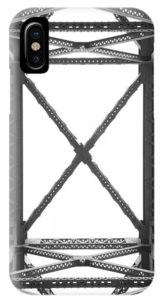 Trestle iPhone Case - R R B 9 by Mike McGlothlen