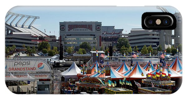 Gamecocks iPhone Case - R U Ready For Some State Fair by Skip Willits