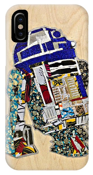 R2-d2 Star Wars Afrofuturist Collection IPhone Case