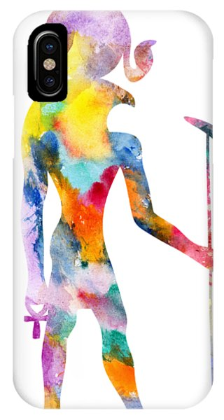 iPhone Case - Ra - God Of Ancient Egypt by Michal Boubin