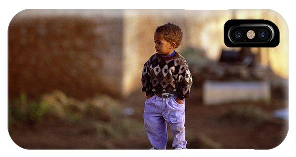 Rabat Kasbah Des Oudaias Little Boy Morocco IPhone Case