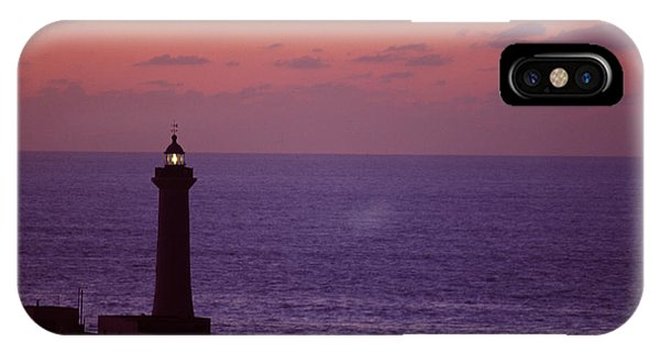 Rabat Morocco Lighthouse IPhone Case