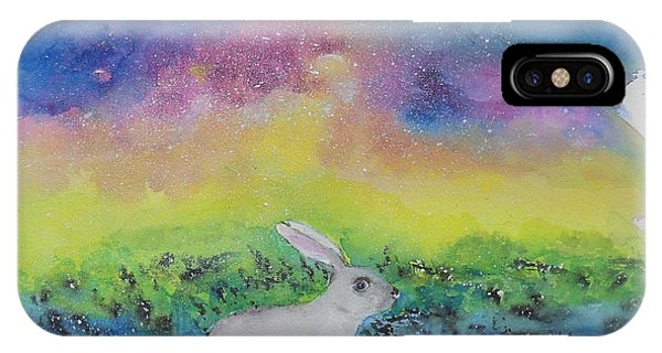 Rabbit In Galaxy 5 IPhone Case