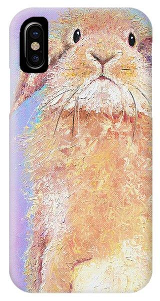 Rabbit Painting - Babu IPhone Case