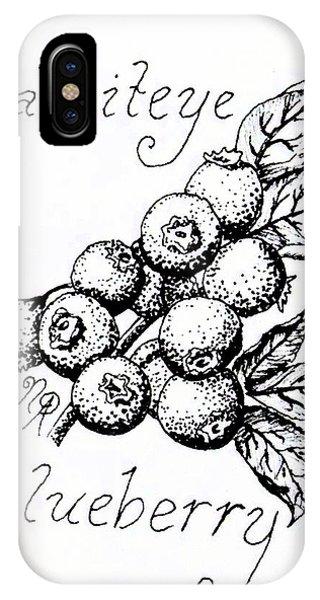 Rabbiteye Blueberry IPhone Case
