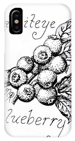 Rabbiteye Blueberry IPhone Case