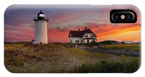 Race Point Light Sunset 2015 IPhone Case