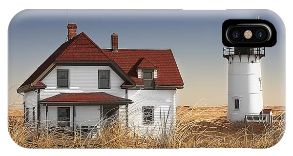 Race Point Lighthouse Cape Cod Phone Case by Dapixara Art