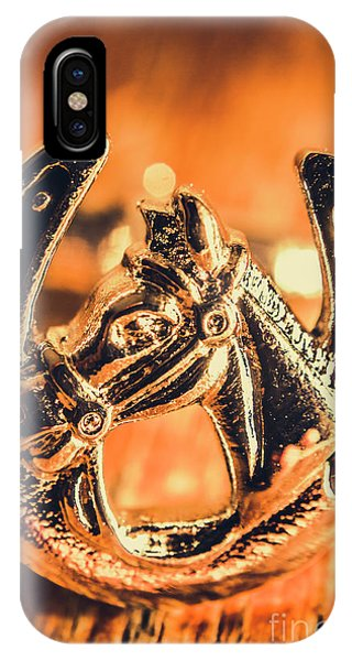 Equine iPhone Case - Racehorse Luck by Jorgo Photography - Wall Art Gallery