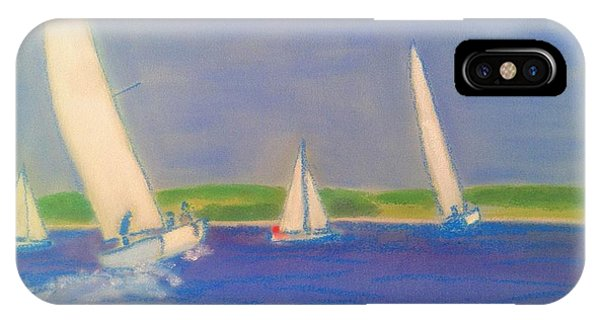 Racing Off Chester IPhone Case