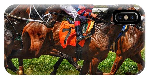 Racing Tight IPhone Case