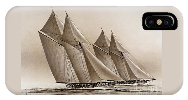 Racing Yachts IPhone Case