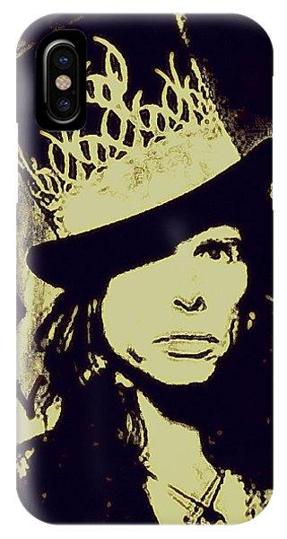 Steven Tyler iPhone Case - Rad Hatter by Jenn Beck