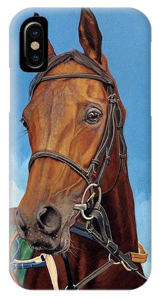 iPhone Case - Radamez - Arabian Race Horse by Antonio Marchese