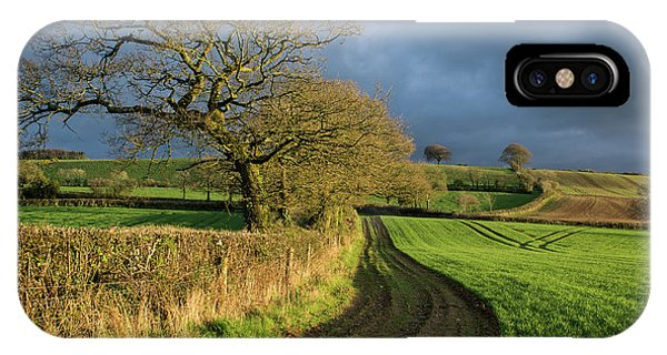 Raddon Top In Mid Devon IPhone Case
