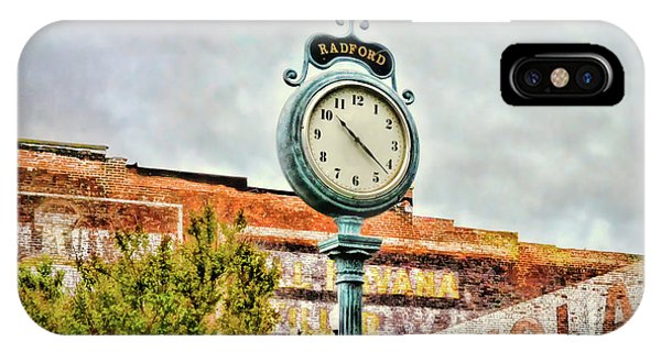 Radford Virginia - Time For A Visit IPhone Case