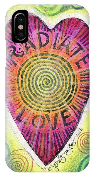 Radiate Love IPhone Case