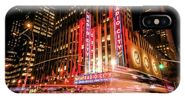 Rockettes iPhone Case - Radio City Music Hall by Michelle Saraswati