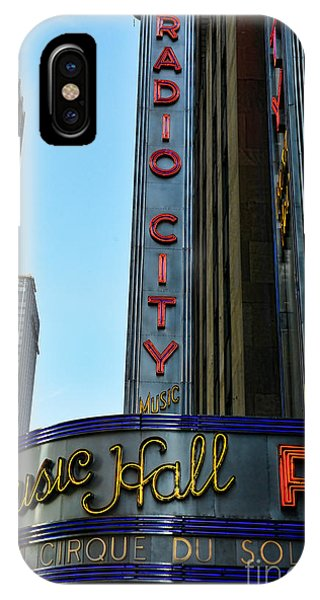 Rockettes iPhone Case - Radio City Music Hall by Paul Ward