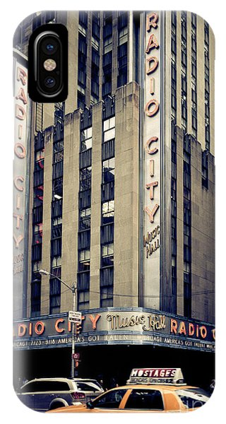 Radio City IPhone Case