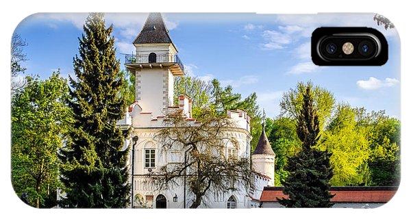 Radziejowice Castle IPhone Case
