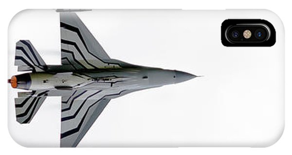 Raf Scampton 2017 - F-16 Fighting Falcon On White IPhone Case