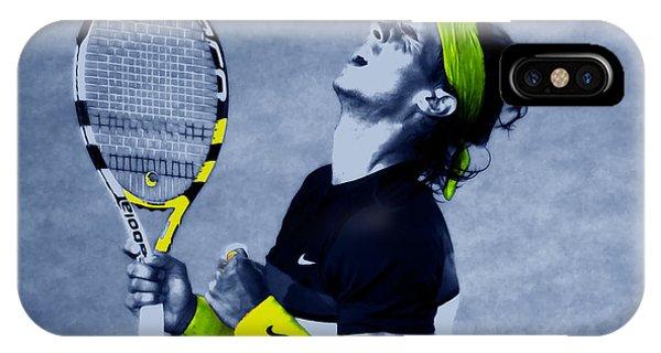 Venus Williams iPhone Case - Rafael Nadal 1a by Brian Reaves